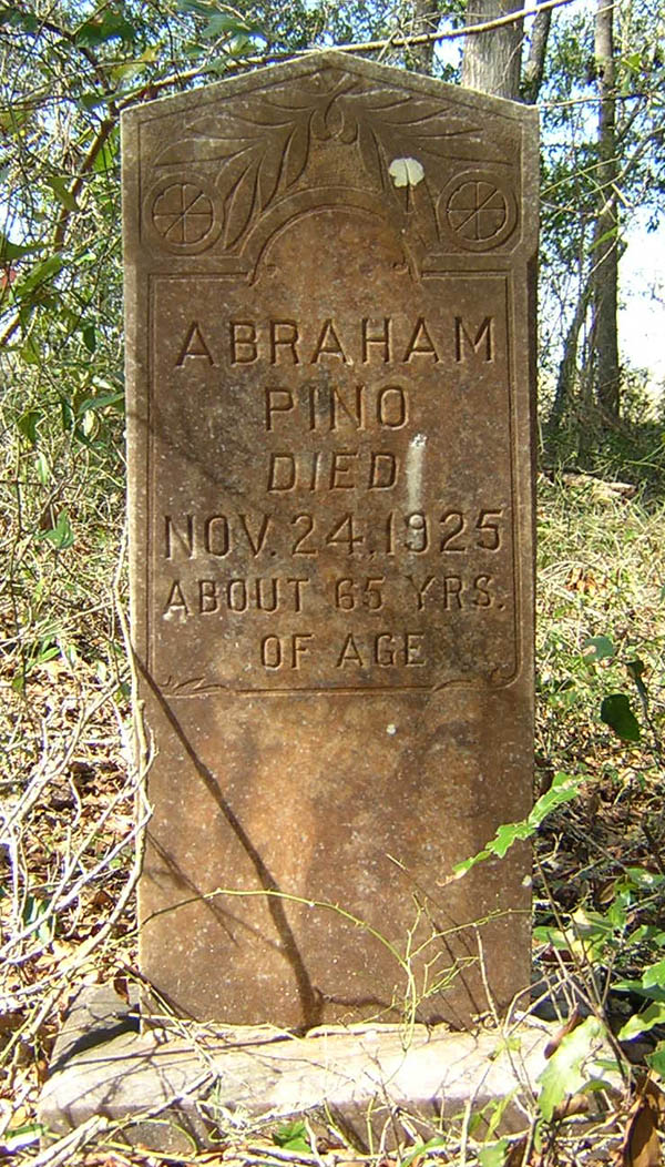 Abraham Pino Gravestone Photo