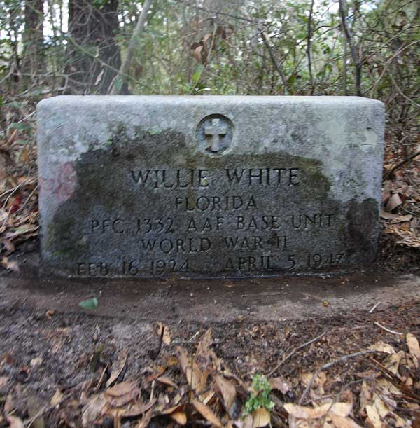 Willie White Gravestone Photo
