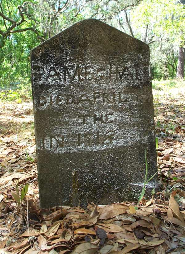 James Hall Gravestone Photo