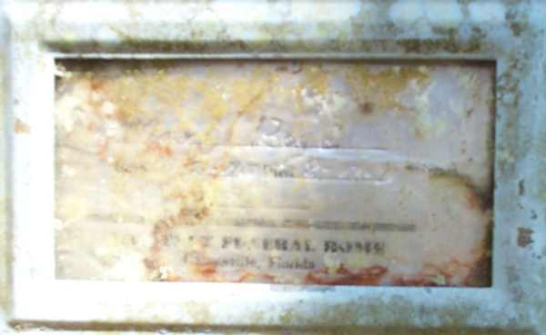 Unreadable Gravestone Photo