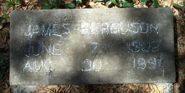 James Ferguson Gravestone Photo