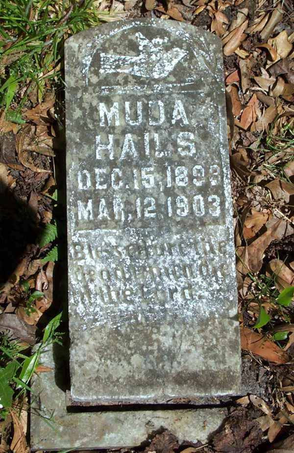 Muda Hails Gravestone Photo