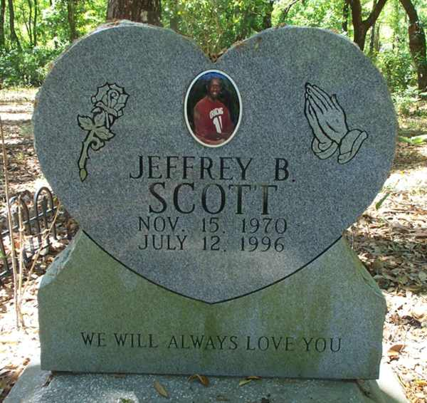 Jeffrey B. Scott Gravestone Photo