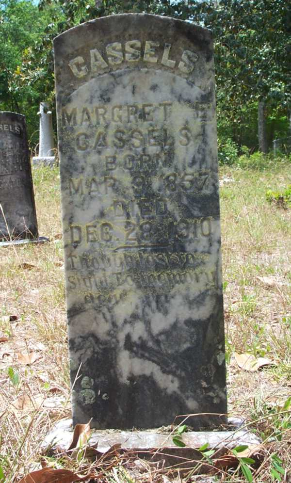 Margret E. Cassels Gravestone Photo