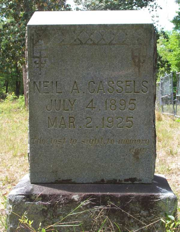 Neil A. Cassels Gravestone Photo