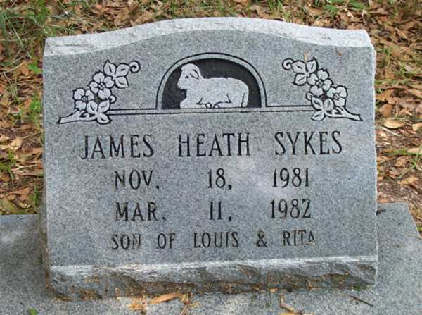James Heath Sykes Gravestone Photo