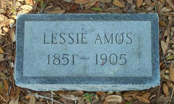 Lessie  Amos  Gravestone Photo