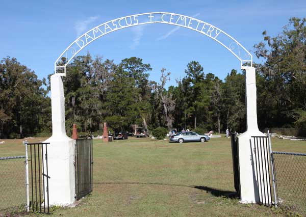 Damascus Gates WView Gravestone Photo