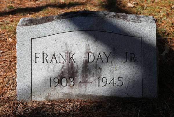 FRANK DAY Gravestone Photo