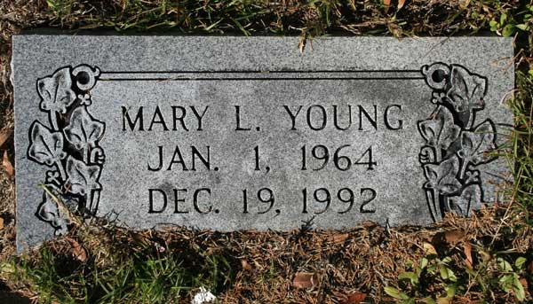 MARY L. YOUNG Gravestone Photo