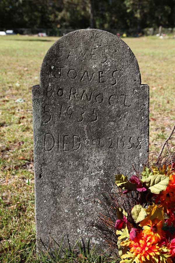 JAMES JONES Gravestone Photo