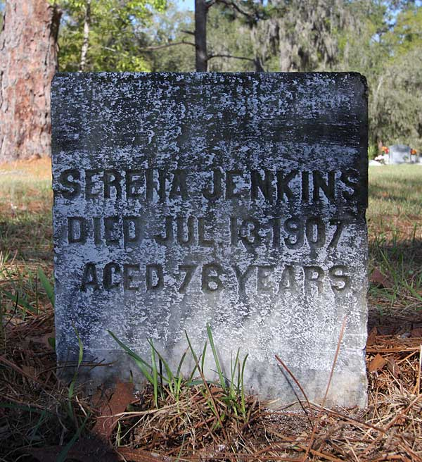 Serena Jenkins Gravestone Photo
