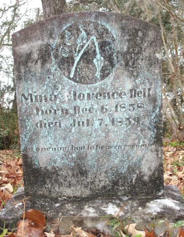 Mina Florence Dell Gravestone Photo