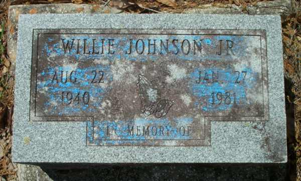 Willie Johnson Gravestone Photo