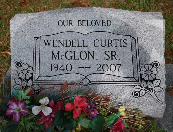 Wendell Curtis McGlon Gravestone Photo