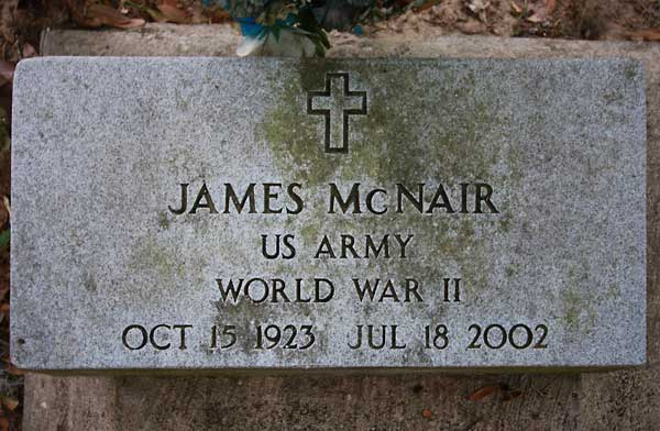 James McNair Gravestone Photo