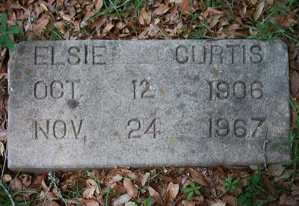 Elsie Curtis Gravestone Photo