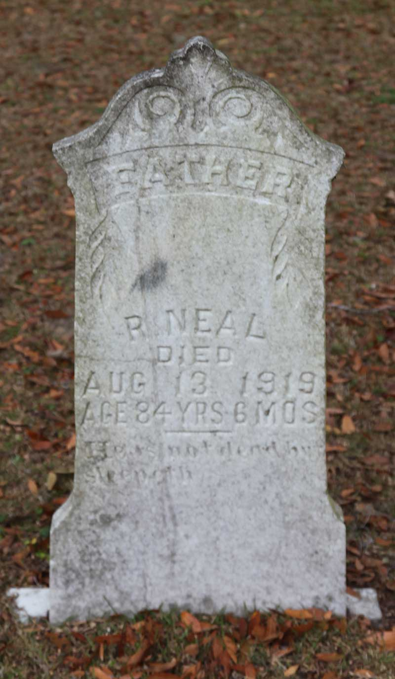 R Neal Gravestone Photo