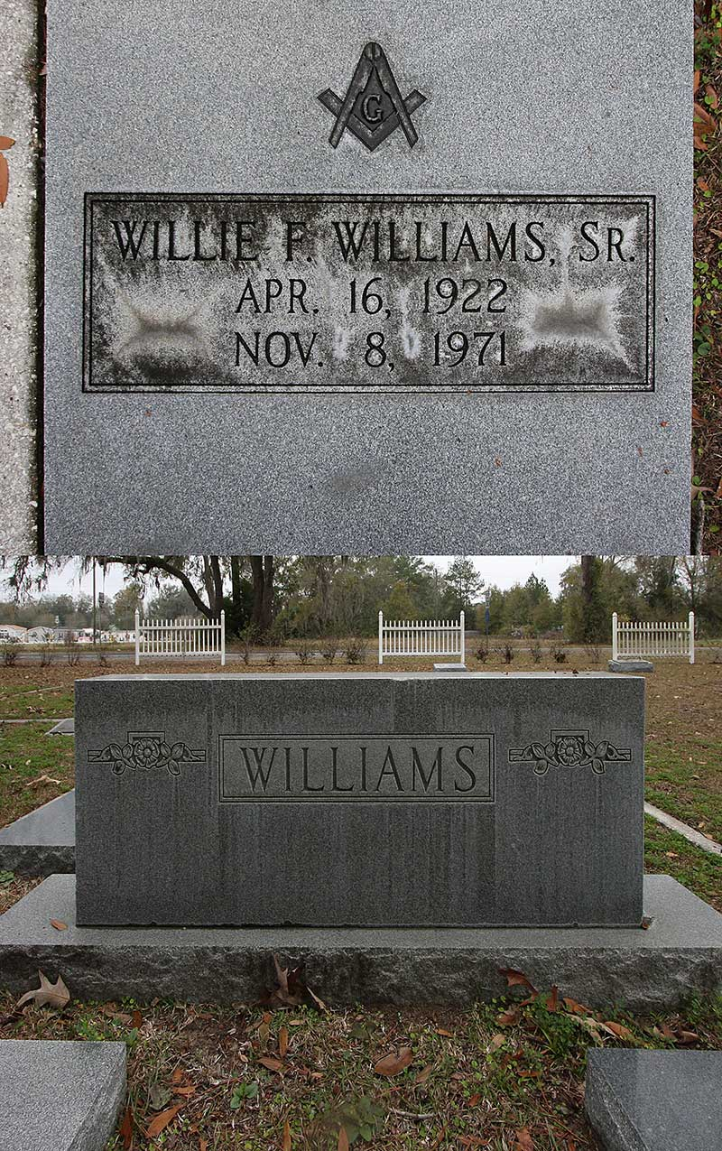 Willie F Williams Gravestone Photo