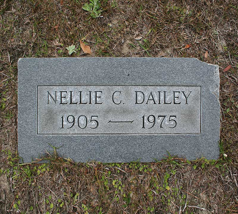 Nellie C. Dailey Gravestone Photo
