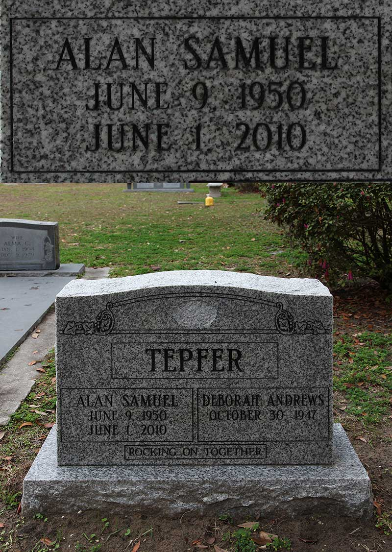 Alan Samuel Tepfer Gravestone Photo
