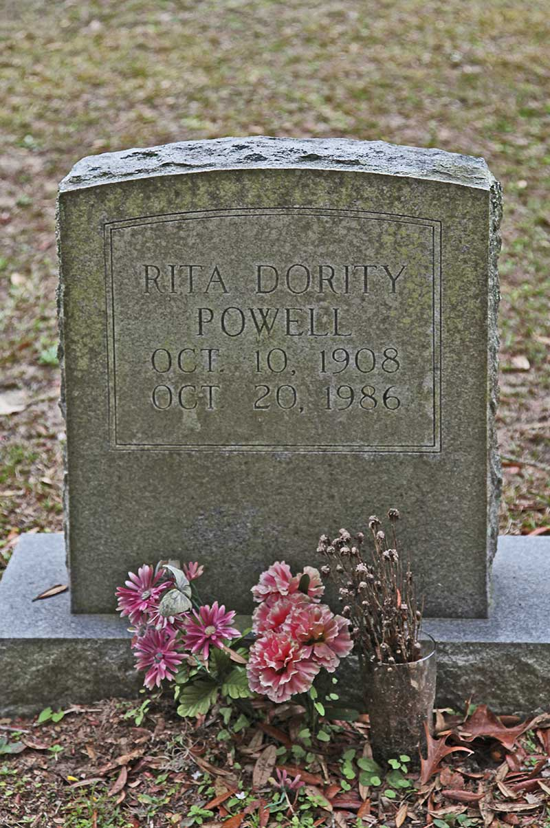 Rita Dority Powell Gravestone Photo