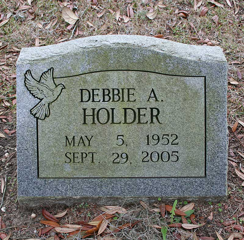Debbie A Holder Gravestone Photo