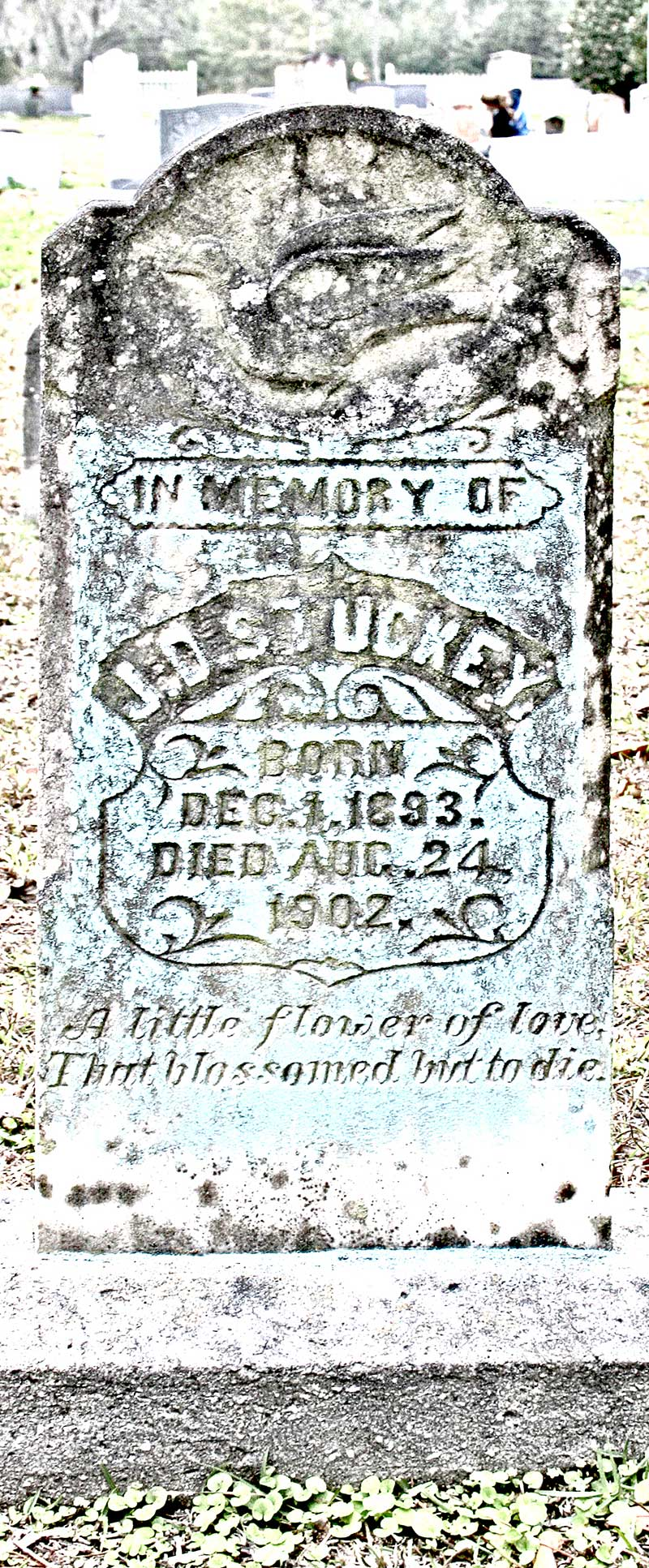 J.D. Stuckey Gravestone Photo