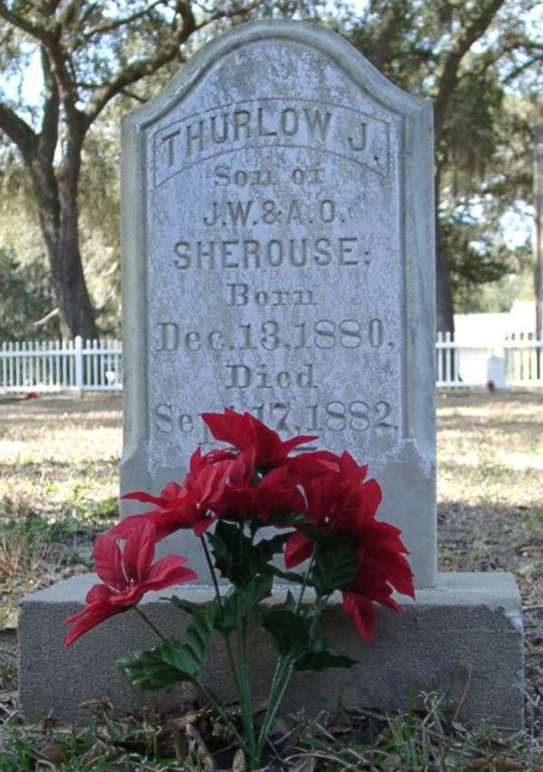 Thurlow J. Sherouse Gravestone Photo