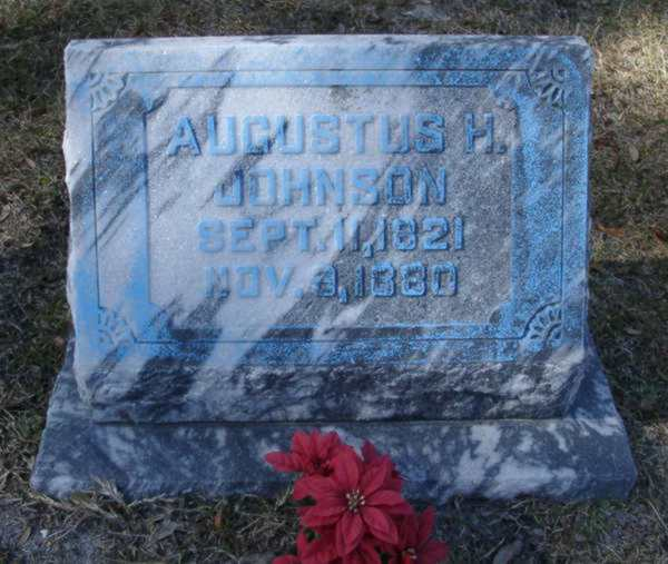 Augustus H. Johnson Gravestone Photo