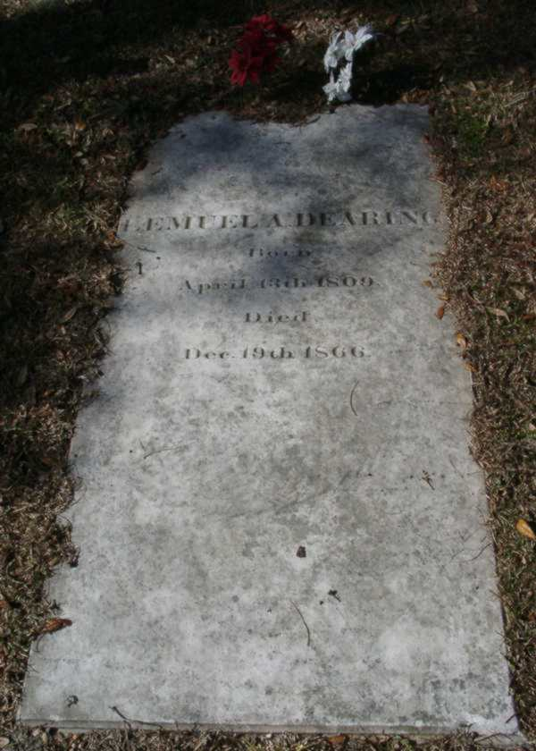 Lemuel A. Dearing Gravestone Photo