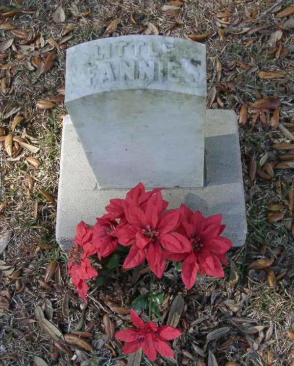Little Fannie Maddox Gravestone Photo