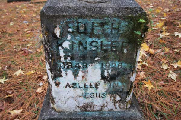 Edith Kinsler Gravestone Photo