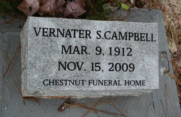 Vernater S. Campbell Gravestone Photo