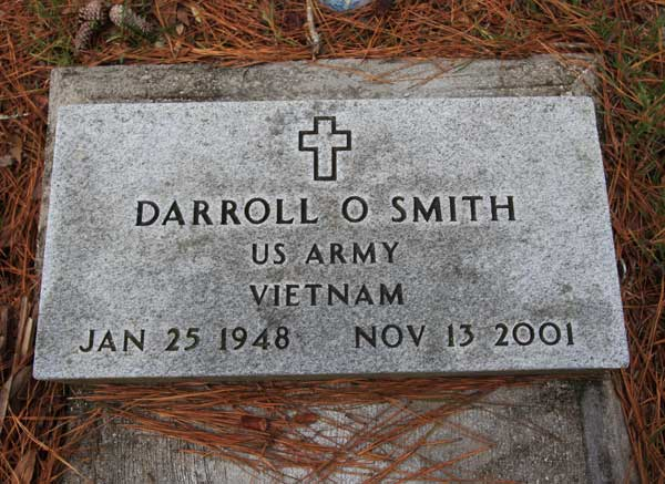 Darroll O. Smith Gravestone Photo