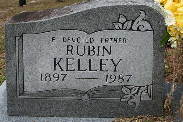 Rubin Kelley Gravestone Photo