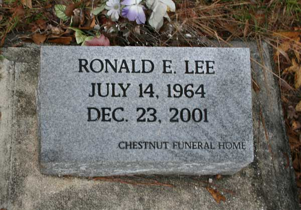 Ronald E. Lee Gravestone Photo