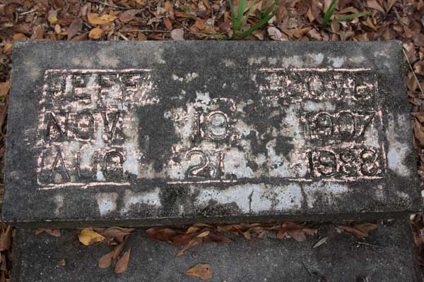 Jeff Love Gravestone Photo