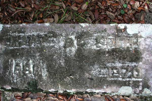 Smith Gravestone Photo