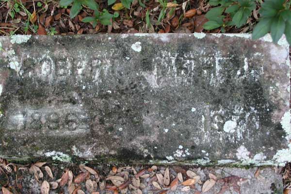 Robert Smith Gravestone Photo