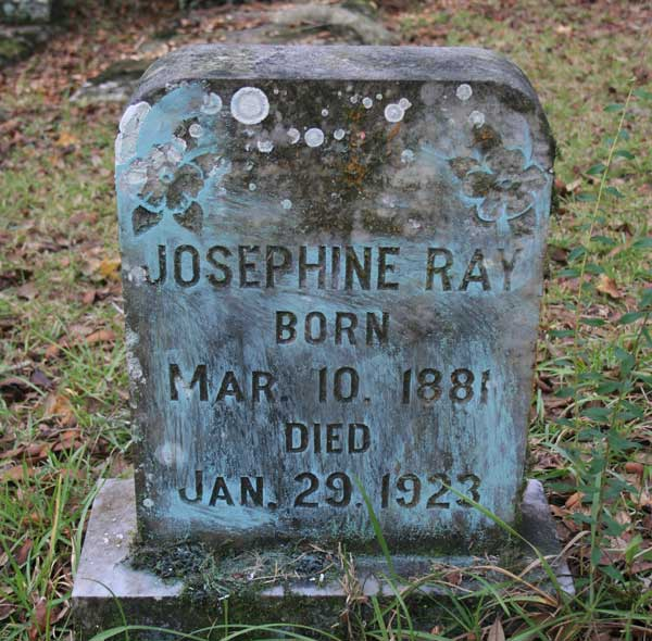 Josephine Ray Gravestone Photo