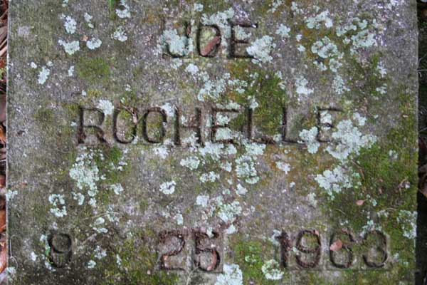 Joe Rochelle Gravestone Photo