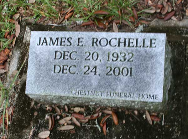 James E. Rochelle Gravestone Photo