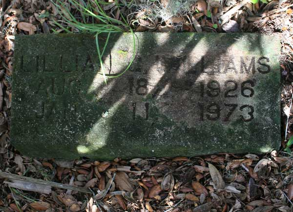 Lillian Williams Gravestone Photo
