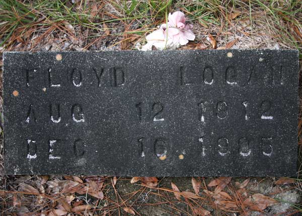Floyd Logan Gravestone Photo