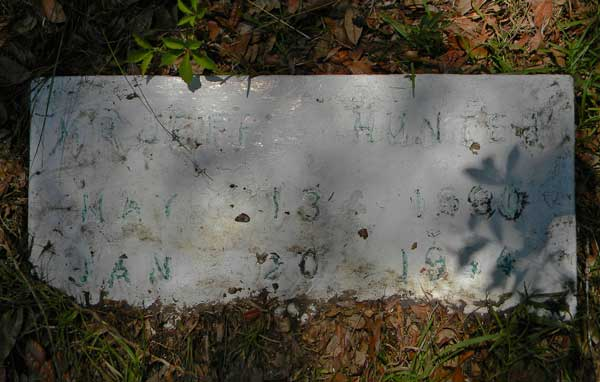 Jeff Hunter Gravestone Photo