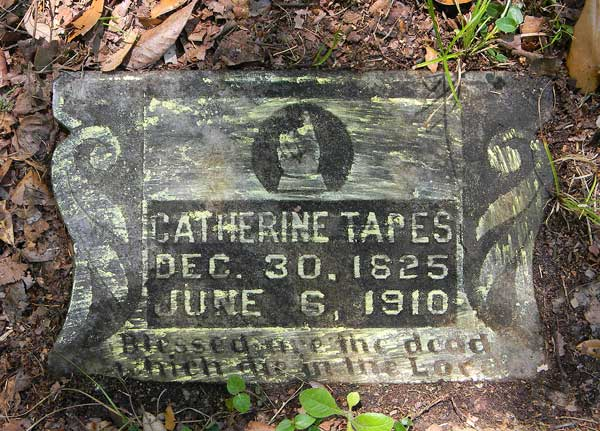 Catherine Tapes Gravestone Photo