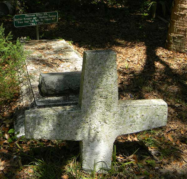 Thomas Wiley Gravestone Photo