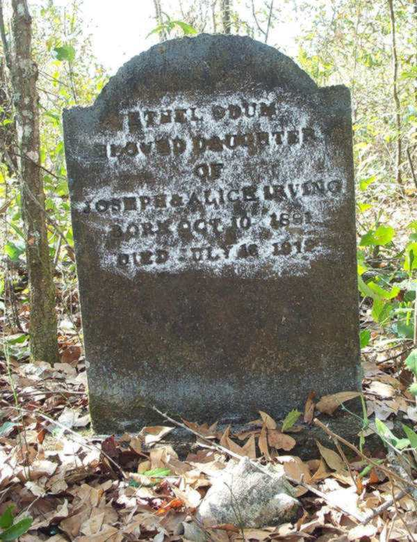 Ethel Odum Gravestone Photo