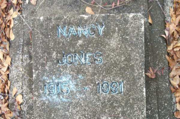 Nancy Jones Gravestone Photo